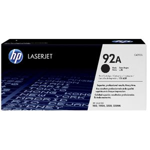 HP 92A C4092A LaserJet Toner Cartridge Black