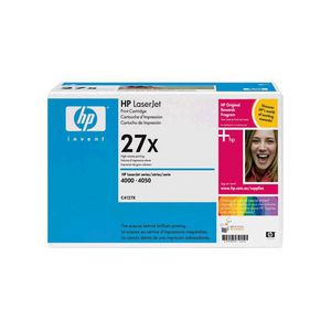HP 27X (C4127X) High Yield Black LaserJet Toner Cartridge