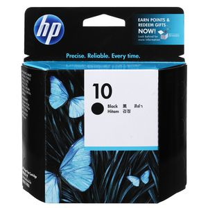 HP C4844AA No 10 black inkjet cartridge