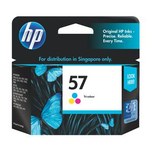 HP 57 Tri-Colour Ink