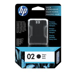 HP 02 Black Ink