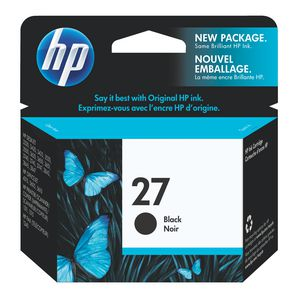 HP 27 Black Ink