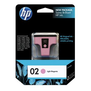 HP 02 Light Magenta Ink