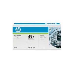 HP 49X Q5949X High Yield LaserJet Toner Cartridge Black