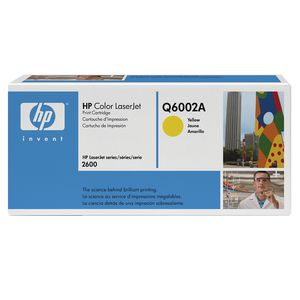 HP Q6002A Yellow Toner
