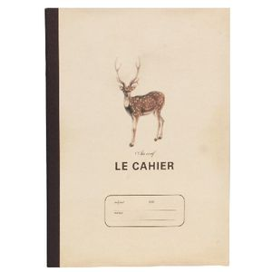 Clairefontaine Large Notebook Deer 64 Page