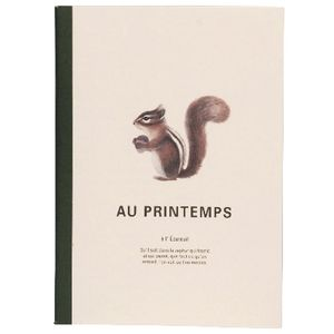 Clairefontaine Medium Notebook Squirrel Sketch 64 Page