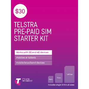 Telstra $30 Tri SIM Card
