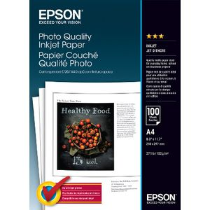 Epson 102gsm A4 Matte Photo Paper 100 Pack