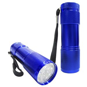 Mini LED Torch Blue