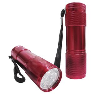 Mini LED Torch Red