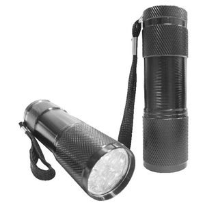 Mini LED Torch Silver