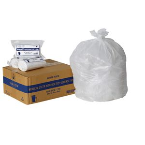 Tailored Packaging Kitchen Bin Liners 27L 1000 Pack White