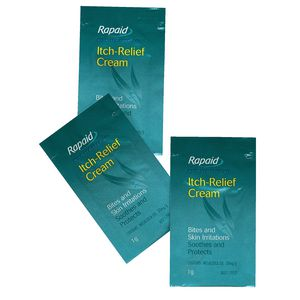 First Aiders Choice Rapaid Itch Relief Cream 1g Sachet