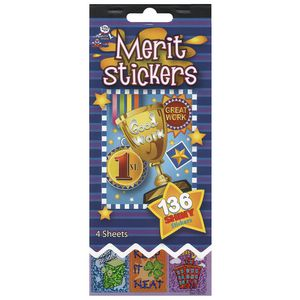 Merit Sticker Book
