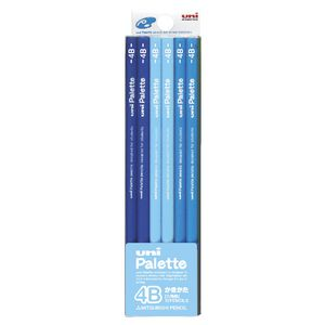 Uni Pallete 4B Graphite Pencils 12 Pack