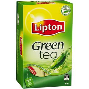 Lipton Green Tea Bags Pack/50