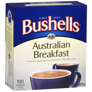 Bushells Australian Breakfast Tea Bags Pack/100