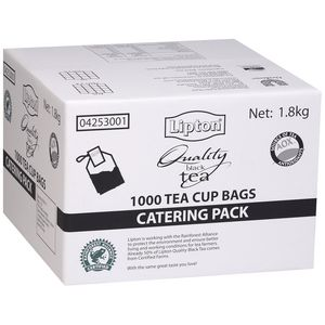 Lipton Quality Black Tea Bags 1000 Pack