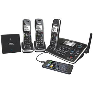 Uniden XDECT 8155 Cordless Phone Answering Machine 3 Handsets