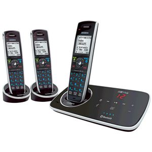 Uniden Elite 9135 Cordless Phone Answering Machine 3 Handsets