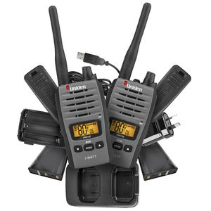 Uniden UH810S 80 Channel 1W UHF Radio Twin Pack