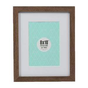 "Promenade Frame 8 x 10"" with 5 x 7"" Opening Brown 10 Pack"