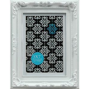 "Emporium Frame 5 x 7"" with 4 x 6"" Opening White"
