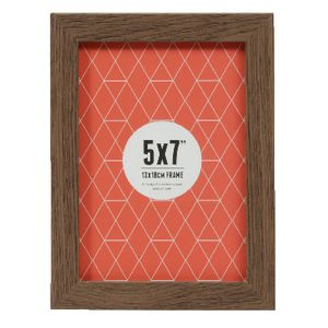 "Promenade Frame 5 x 7"" Brown 5 Pack"