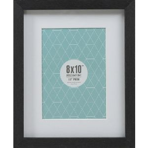 "Promenade Frame 8 x 10"" with 5 x 7"" Opening Black 5 Pack"