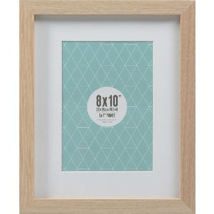 "Promenade Frame 8 x 10"" with 5 x 7"" Opening Oak 5 Pack"