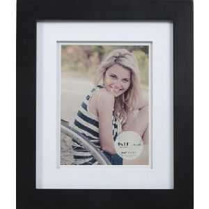 "Living Frames 9 x 11"" with 6 x 8"" Opening Black 10 Pack"