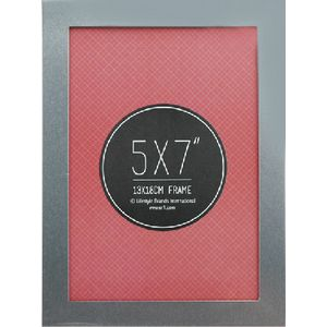 "Lifestyle Brands Metropole Frame 5 x 7"" Silver 5 Pack"