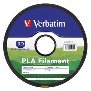 Verbatim 3D PLA Filament 1Kg Orange