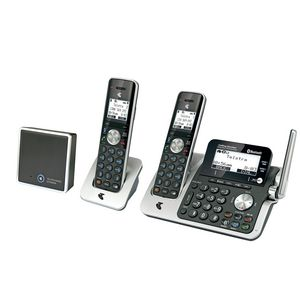 Telstra 12850 DECT360 Bluetooth Cordless Phone & Answering Machine +1