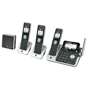 Telstra 12850 Cordless Phone Answering Machine 3 Handsets