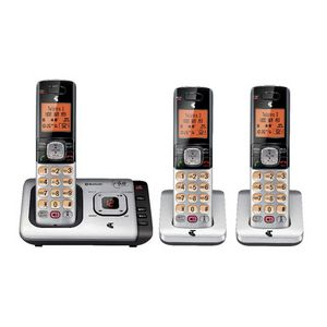 Telstra 13552 Cordless Phone Answering Machine 3 Handsets