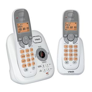 VTech 15250 DECT Cordless Phone Answering Machine 2 Handsets