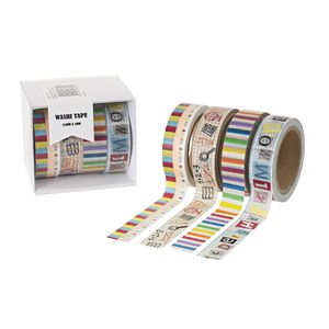 Washi Tape 15mm x 10m 4 Pack