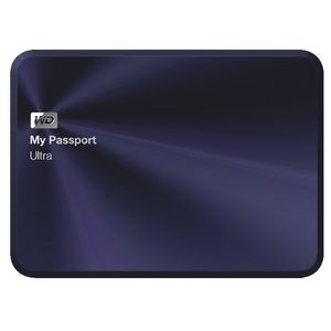 WD 2TB My Passport Ultra Metal Ed Portable Hard Drive Blue