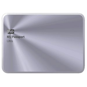 WD 2TB My Passport Ultra Metal Ed Portable Hard Drive Silver