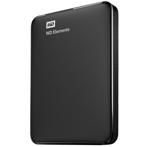WD 2TB Elements Portable Hard Drive Black