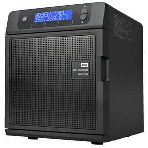 WD 12TB 4 Bay Sentinel DX4000 Network Attached Storage