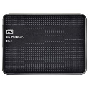 WD My Passport Ultra 1TB Portable Hard Drive Black