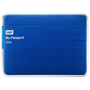 WD My Passport Ultra 1TB Portable Hard Drive Blue