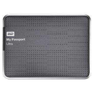 WD My Passport Ultra 1TB Portable Hard Drive Titanium