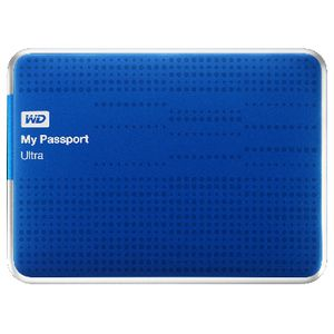 WD My Passport Ultra 2TB Portable Hard Drive Blue