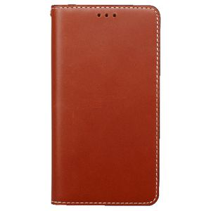 Wetherby Classic Basic Samsung Note 4 Case Red Brown