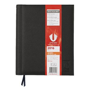 Upward Nobel A4 Day to Page 2016 Diary Black