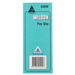 Wildon 40W Pay Slip Pad